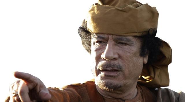Kaddafi Yine Meydan Okudu