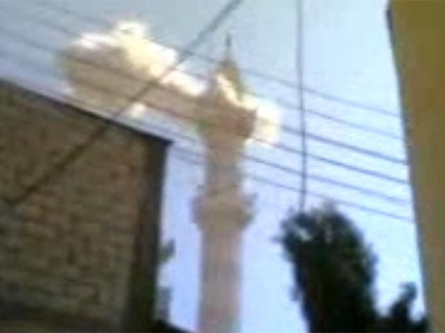 Humus ta camiye yapılan saldırı tansiyonu yükseltti.