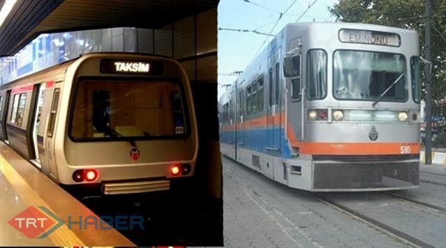 İstanbulda Metro ve Tramvay Kullanan Vatandaşa Müjde..