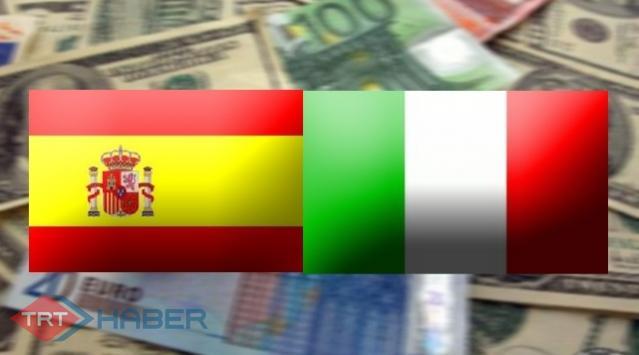 İtalya ve İspanyada Kriz Endişesi