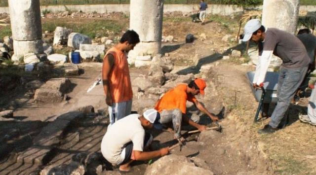 Soli Pompei Şehri Günyüzüne Çıkıyor