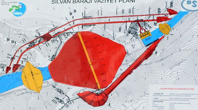 Silvan Barajında Sona Doğru