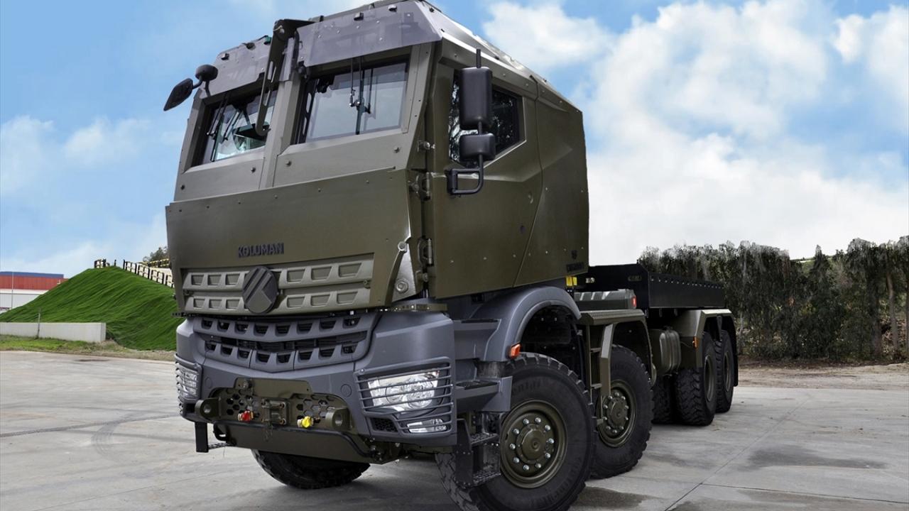 """""""Derman"""", NATO sertifikası için İngiltere yolunda"""