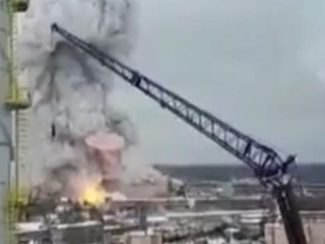 Rusya'da kimyasal fabrikada yangın