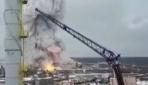 Rusyada kimyasal fabrikada yangın