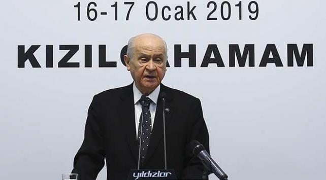 Bahçeli: Cumhur İttifakı Türkiyeye tuzak kuranları şaşkına çevirecektir