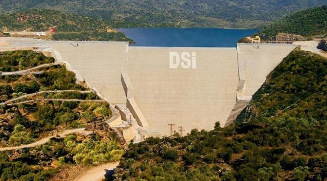 İzmirdeki barajlar yağmura doydu