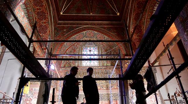 Mevlana Müzesinde 500 yıllık süslemeler ortaya çıkarıldı