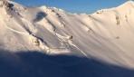 İsviçre Alplerinde yapay çığ serileri oluşturuldu