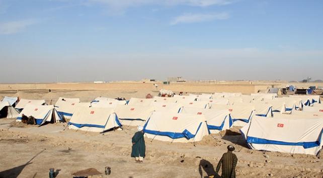 """TDV Afganistanda """"Kayseri Muhacir Kampı"""" kurdu"""