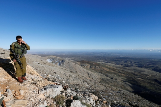 İsrail ordusu: Golan Tepelerine atılan roket imha edildi