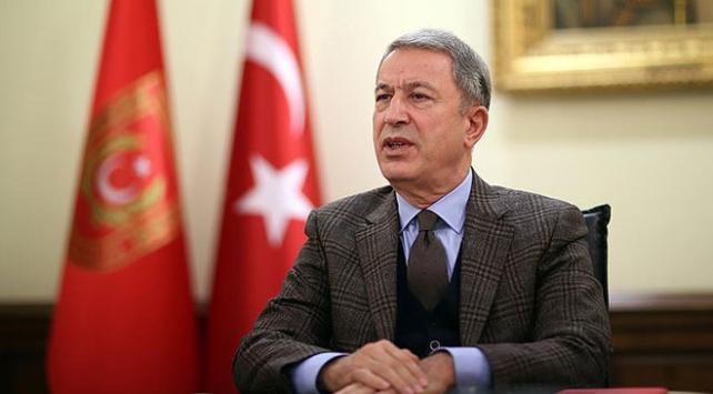 Bakan Akar: Mehmetçik Zeytin Dalı Harekatında destan yazmıştır