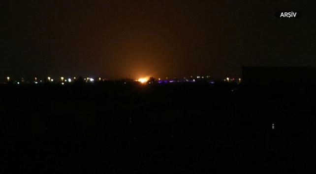 İsrailden Suriyedeki İran hedeflerine saldırı
