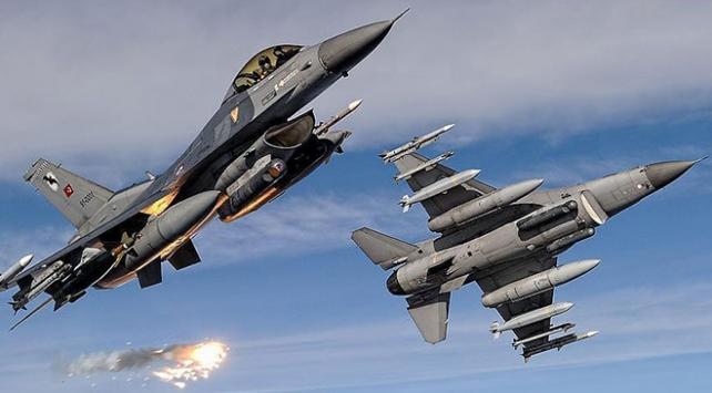 Irakın kuzeyine hava harekatında en az 6 terörist etkisiz hale getirildi