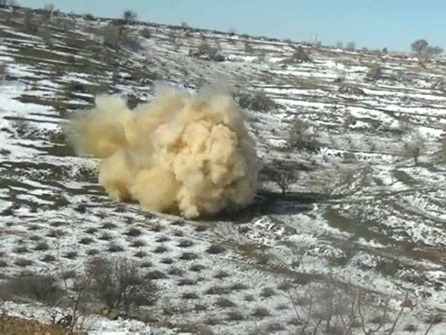 Mardin kırsalında 150 kilogram patlayıcı imha edildi