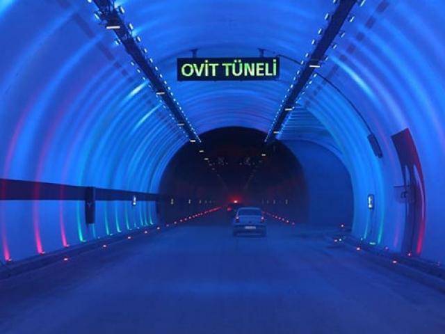 Ovit Tüneli 138 yıllık hayali hayata geçirdi