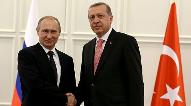 Cumhurbaşkanı Erdoğan Rusyada Putin ile görüşecek