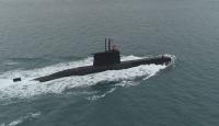 """Türk Donanmasının gururu """"TCG Sakarya""""nın bir günlük yolculuğu görüntülendi"""