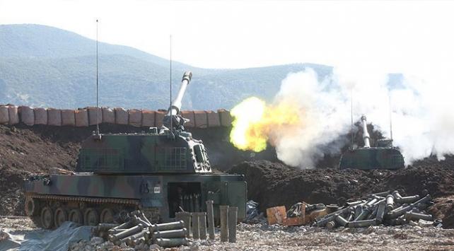 TSK, Tel Rıfattaki YPG/PKK hedeflerini vurdu