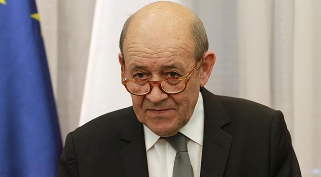Fransa Dışişleri Bakanı Le Drian: Türkiyenin sınırlarının güvenliğini sağlamak istemesi normal