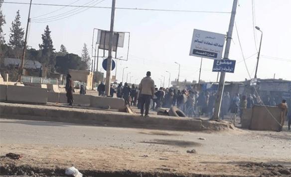 YPG/PKK'dan protestoları engellemek için sözde sokağa çıkma yasağı