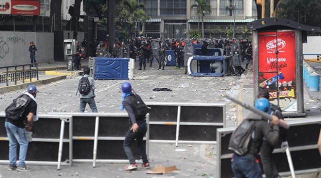 Hamastan Venezueladaki darbe girişimine kınama