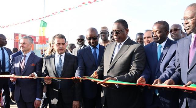 Senegalde Türk yatırımı 106 milyon dolarlık Hal Kompleksi açıldı