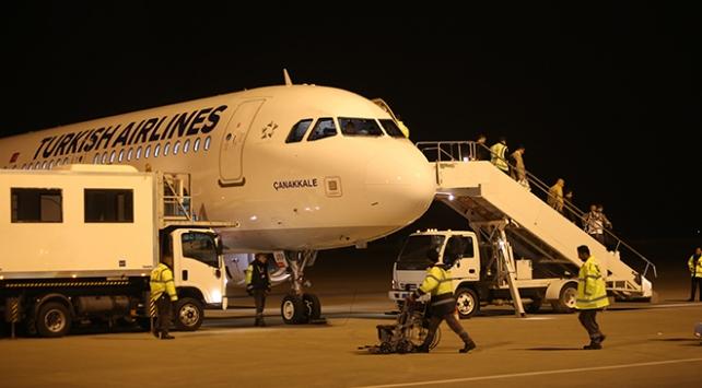 Irakın Süleymaniye kentine uçuşlar tekrar başladı