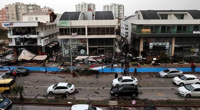 Antalyada hortum 315 binada hasara yol açtı