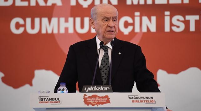 MHP Genel Başkanı Bahçeli: Kaos hazırlığı yapan siyasi maskaralardan sorulacak hesabımız var