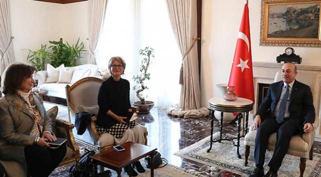 Bakan Çavuşoğlu BM Raportörüyle bir araya geldi