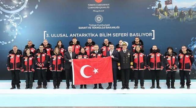 3. Ulusal Antarktika Bilim Seferi için Türk ekip yola çıktı