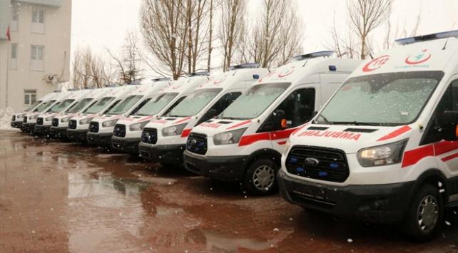 Bitlise 11 yeni ambulans
