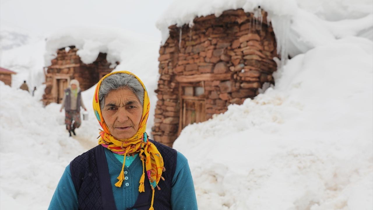 Köylülerin kış mesaisi