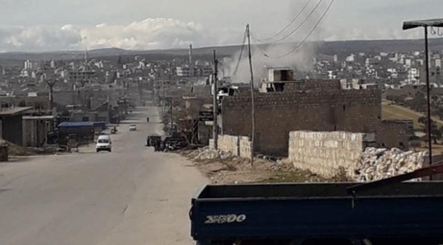 Esed rejiminden İdlibe saldırı