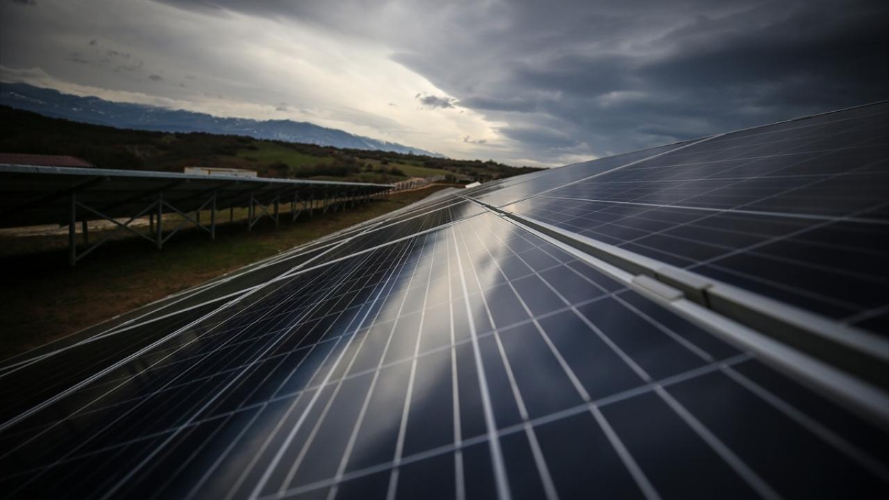 """""""Güneş tarlası""""nda bin konuta yetecek elektrik üretiyor"""
