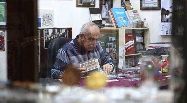 Hatıra paradan ilk piyango biletine 62 yıllık koleksiyon