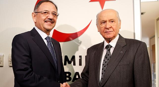 MHP Genel Başkanı Bahçeliden Özhasekiye destek ziyareti