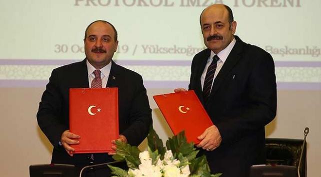 YÖK, Sanayi ve Teknoloji Bakanlığı ve TÜBİTAK ile güç birliği yapacak