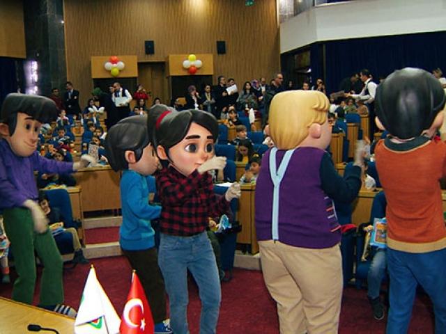 Çocuklar, Rafadan Tayfa ekibiyle TRTnin özel gösteriminde buluştu