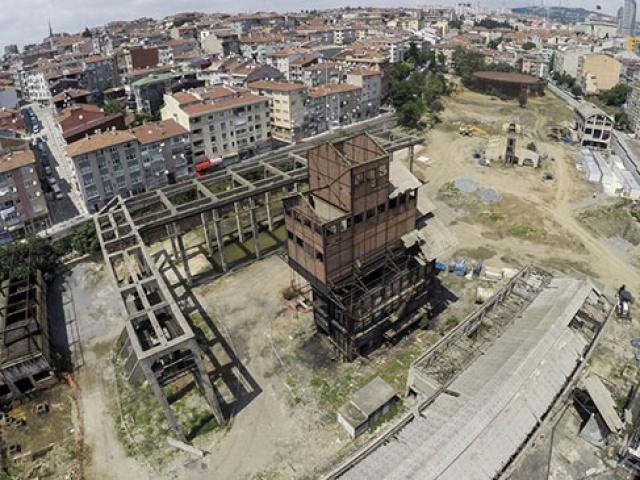 Hasanpaşa Gazhanesinin restorasyon çalışmaları ilk kez TRT Haberde
