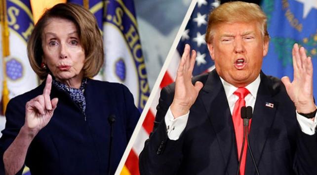 Trump ve Pelosi duvar konusundaki tutumlarını sertleştirdi