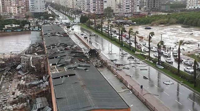 Antalyada hortumdan etkilenenlere 30 milyon lira tazminat ödendi