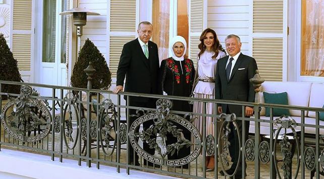 Emine Erdoğandan Ürdün Kralının ziyareti ile ilgili paylaşım