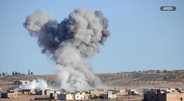 ABD öncülüğündeki koalisyon Suriyede rejim güçlerini vurdu