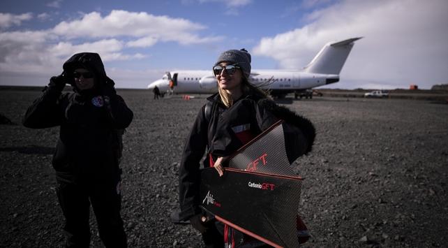 Türk ekibi Antarktikaya ayak bastı