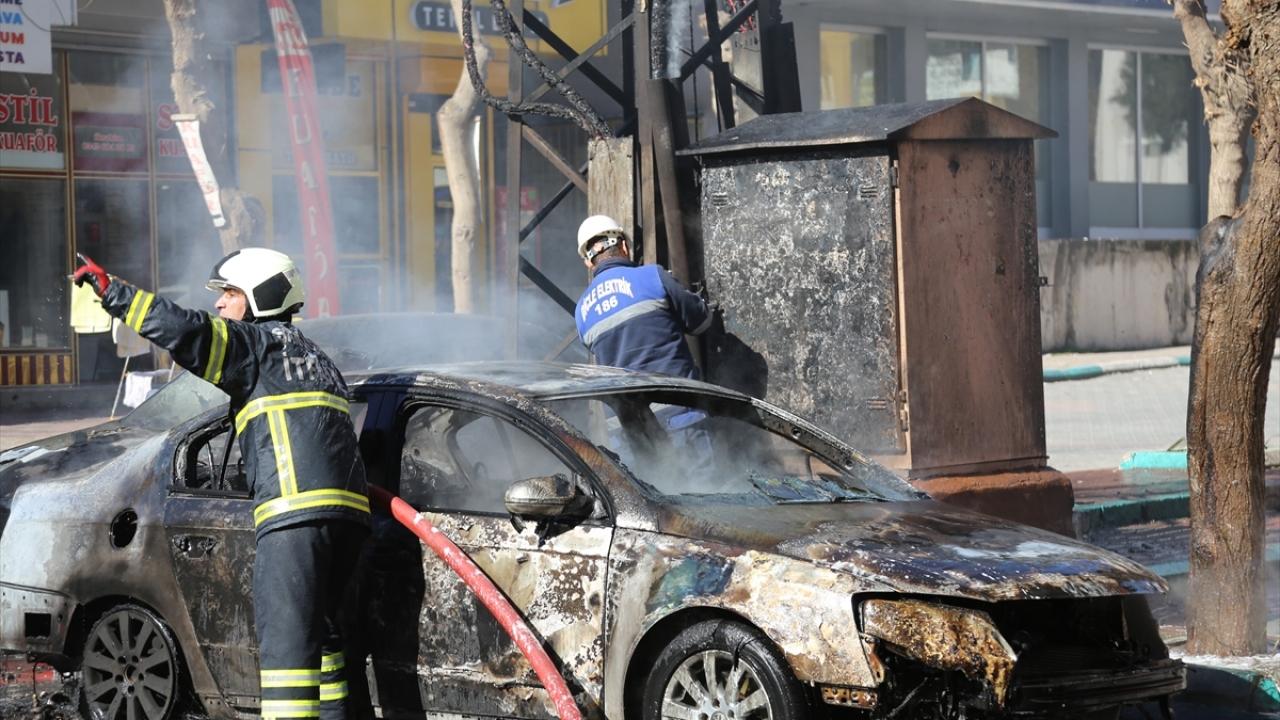 Patlayan trafo yangına neden oldu