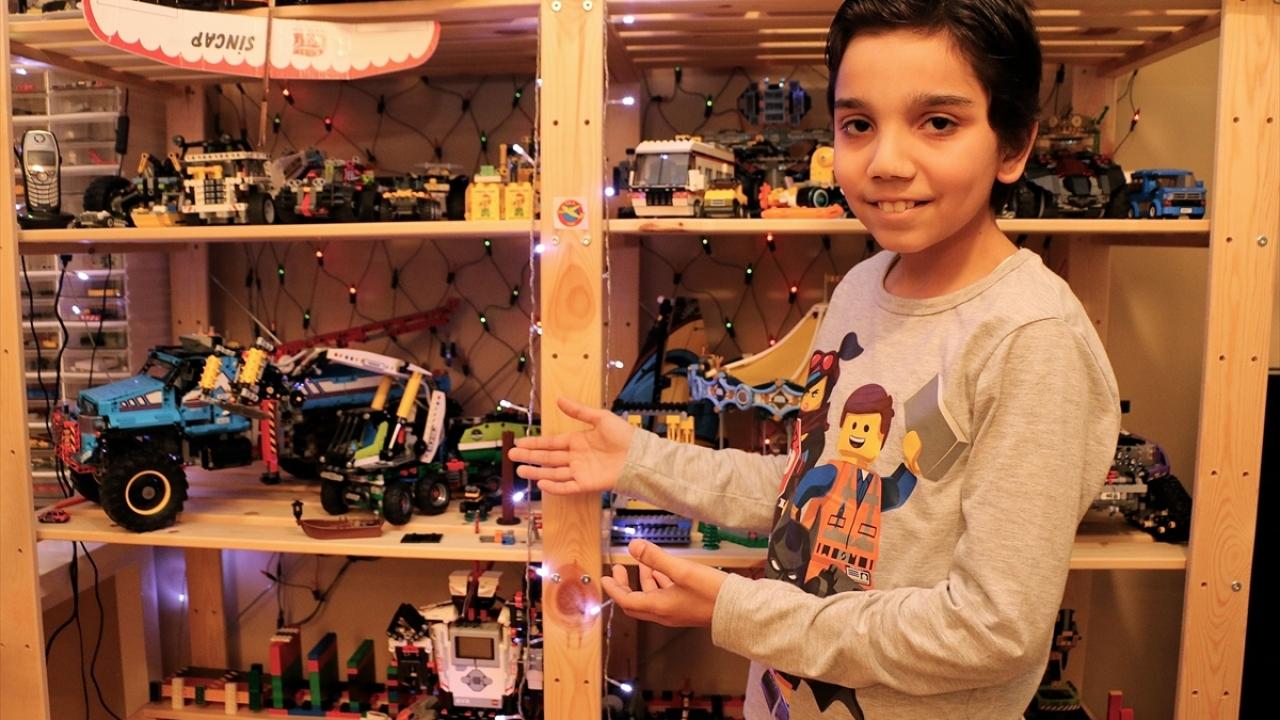 """""""Legoların efendisi"""" eve sığmıyor"""