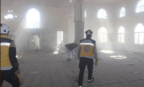 Esed rejiminden Hamada camiye saldırı