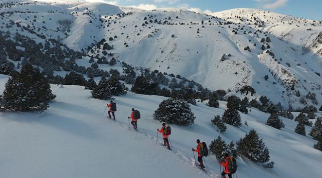 Kayak tutkunlarının güvenliği Mehmetçike emanet